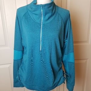 Lucy Athletic Wear Jacket Size Large Blue